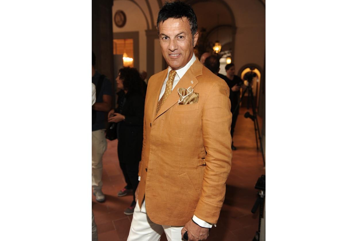 Maurizio Marcolin at the Emilio Pucci 'Design the Dream' cocktail 17.06