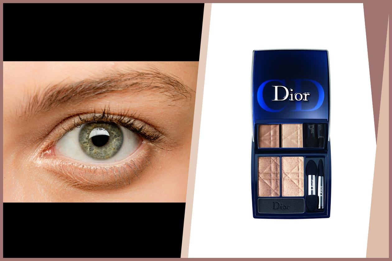 NUDE: per un make up il più naturale possibile. Unica variante concessa: un velo di polvere nera sfumata sulla palpebra mobile (John Richmond – Dior)
