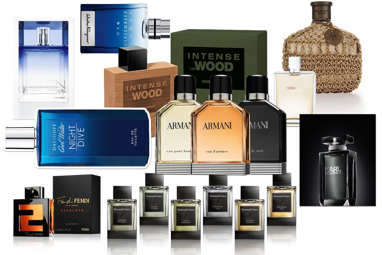 Profumi uomo: le migliori fragranze dell'estate 2014. Scegliete la vostra preferita!