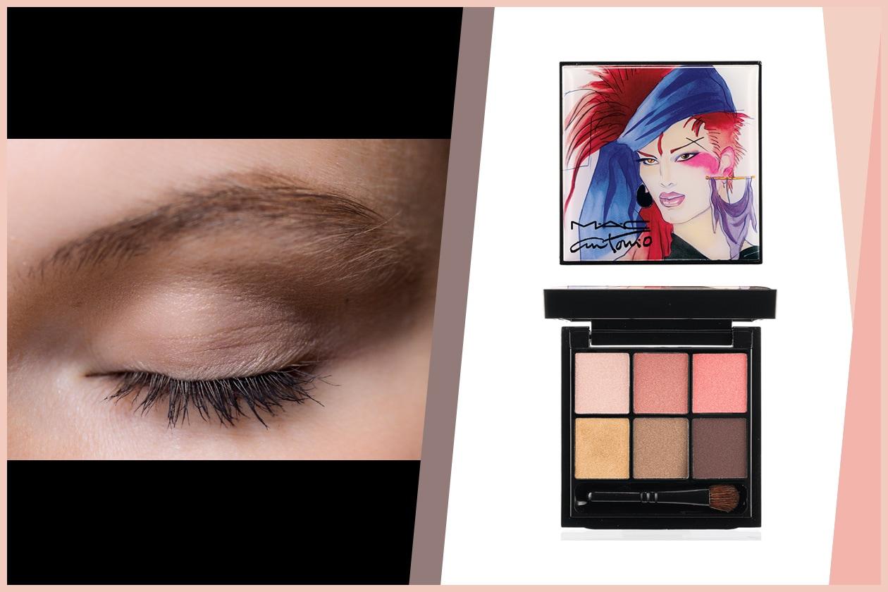 ROSE&BROWN: rosa e marrone, per un trucco discreto da indossare in ogni momento della giornata (Les Copains – MAC Cosmetics)