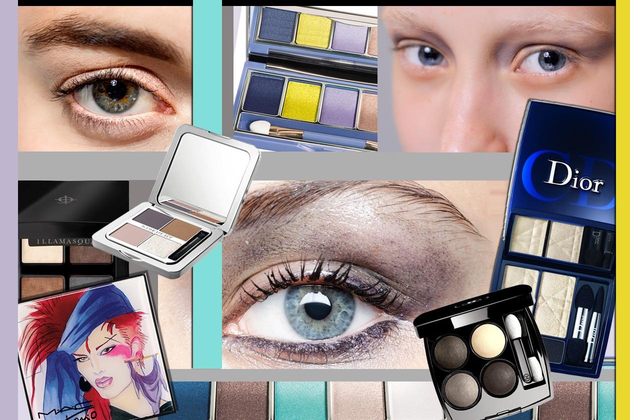 Trucco occhi full color: scegli tra le palette selezionate da Grazia.IT e lasciati ispirare dalle scelte dei make up artist per le sfilate p/e 2014