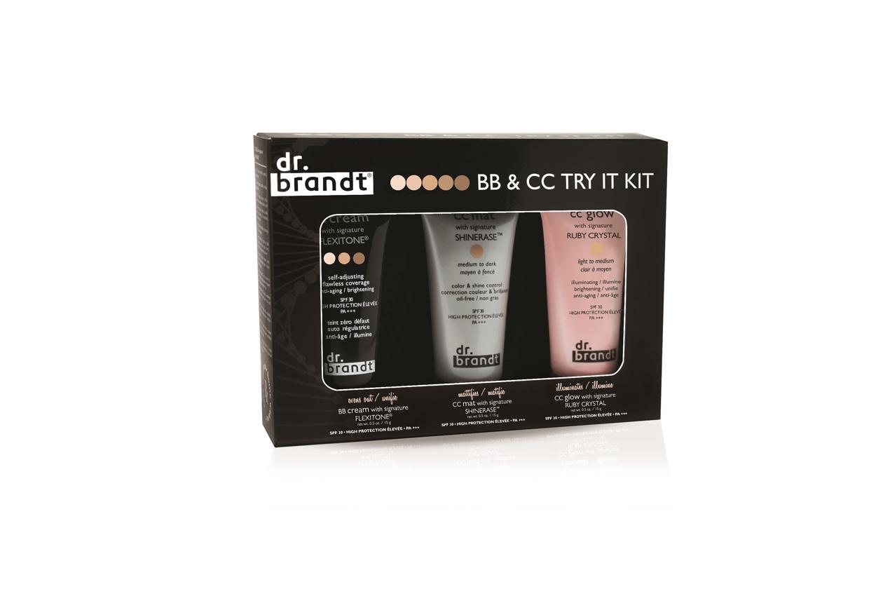 Un kit perfetto se siete in viaggio il BB&CC Try It Kit di Dr.Brandt