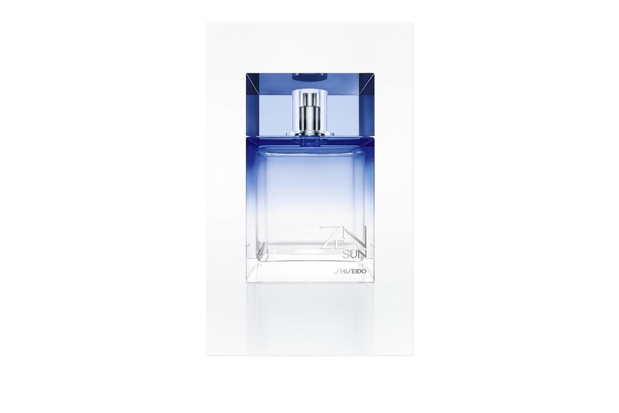 Una nuova interpretazione anche per ZENSUN for MEN Eau de toilette Fraîche di Shiseido, una fragranza diretta, fresca, decisamente estiva