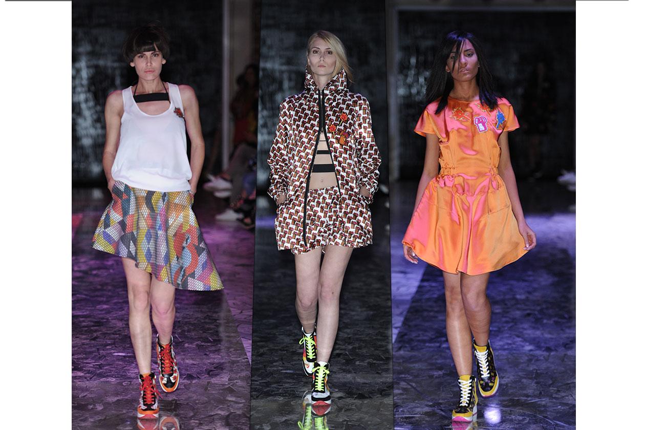 Fashion Evento i cinque fiori sfilata 1