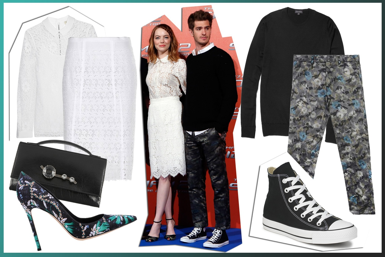 Get the look: Emma Stone and Andrew Garfield
