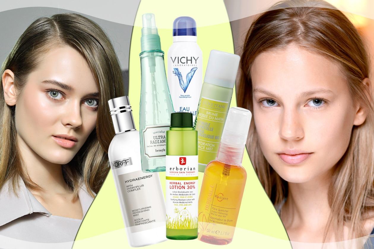 Spray viso rinfrescanti: le proposte di Grazia.IT per un tocco di freschezza