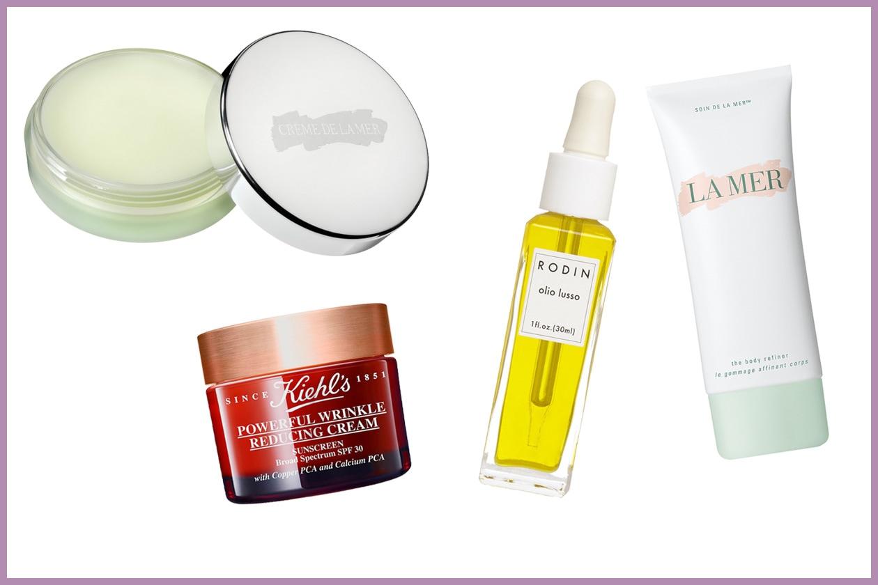 MASSIMA ATTENZIONE ALLO SKINCARE: «Avere una bella pelle è la palette migliore per ogni make up» (Kiehl's – Rodin – La Mer)