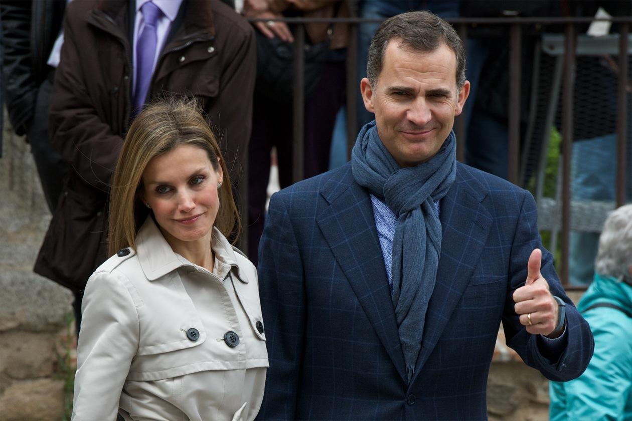 Prima di sposare la Principessa Letizia ha frequentato per un po' una modella di lingerie norvegese