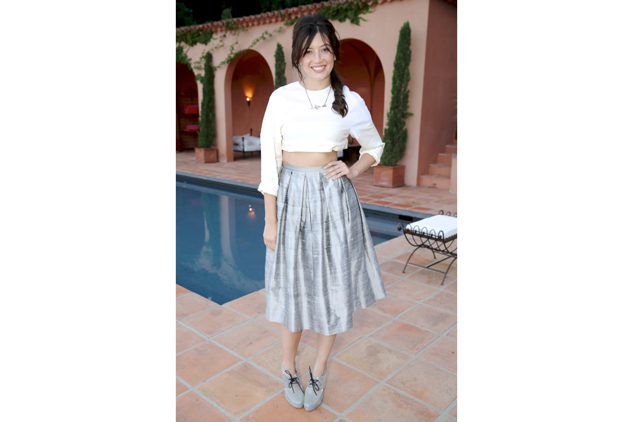 A3 Daisy Lowe in Edun & Henry Holland