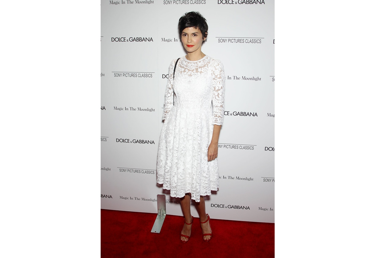 Audrey Tautou 'Magic in the Moonlight' NY Premiere July 17 2014