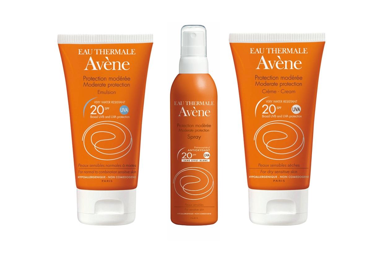 Avène SPF 20: per le pelli sensibili ma già abituate al sole