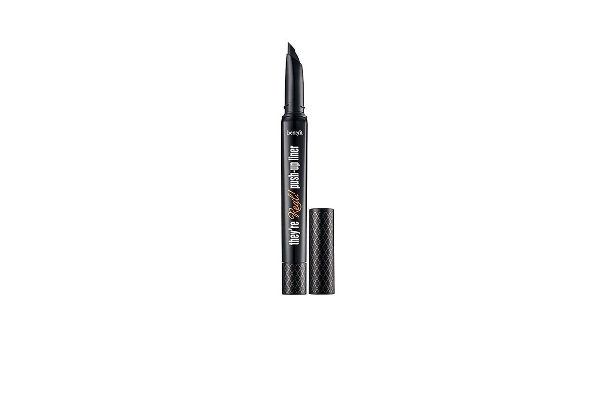 BEAUTY Nicola Peltz beauty Benefit Cosmetics theyre Real Push Up Gel Liner