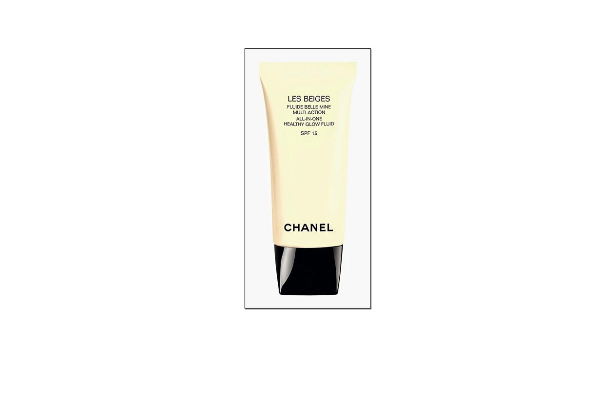 BEAUTY SUMMER NUDE MAKE UP LES BEIGES de Chanel, Fluide Belle Mine Multi Action SPF 15