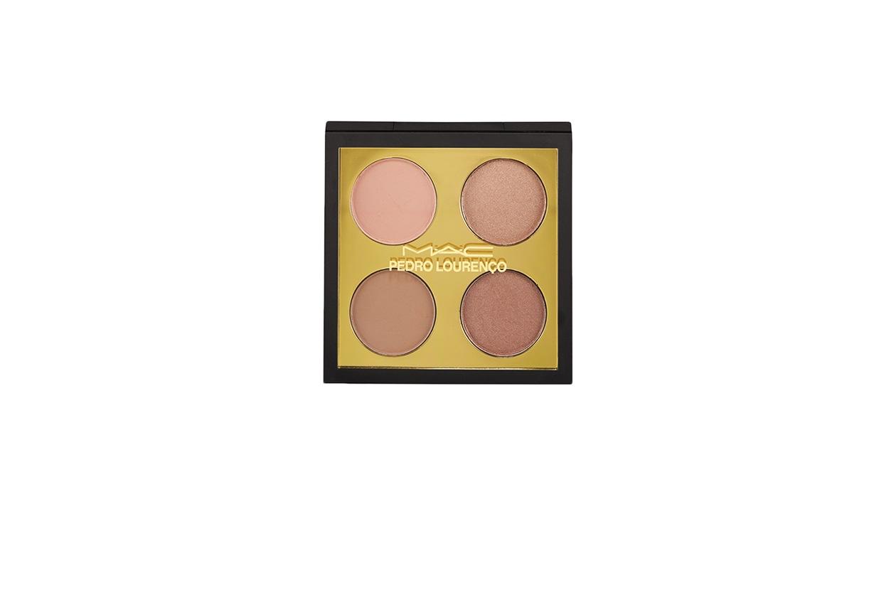 BEAUTY SUMMER NUDE MAKE UP MAC Cosmetics Pedro Lourenco Summer 2014 Nude eyeshadow quad e1400798154788 917×1024