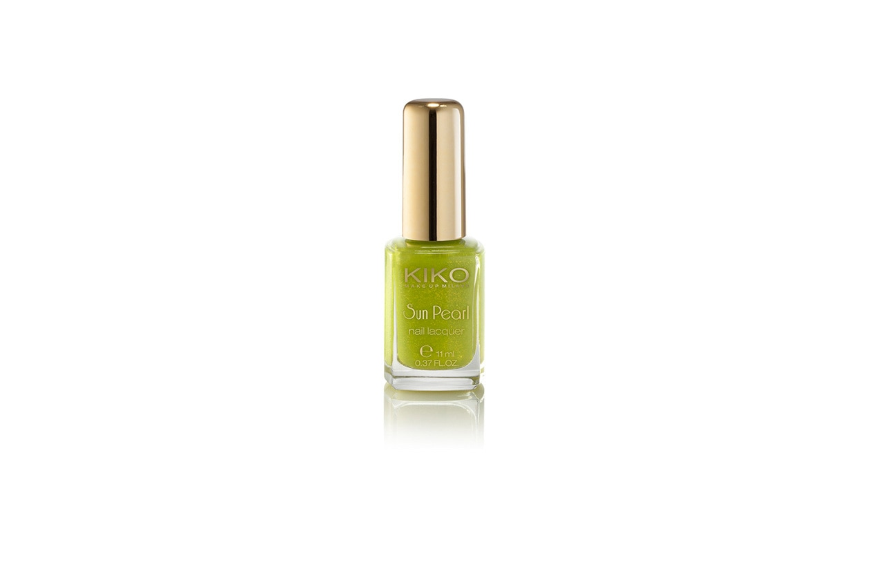 BEAUTY Smalti Neon Sun Pearl Nail Lacquer Amable Chartreuse