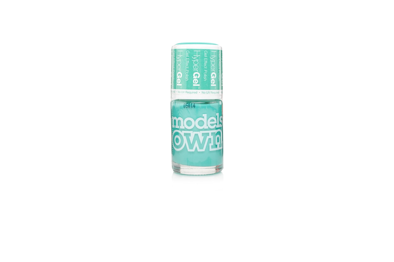BEAUTY Smalti Neon models own Turquoise Gloss HyperGel