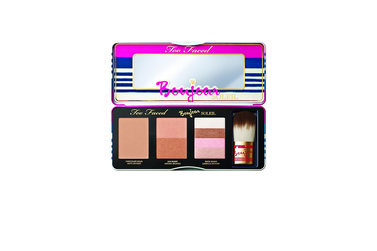 BEAUTY beauty per festival & camping Too Faced Bonjour Soleil Open