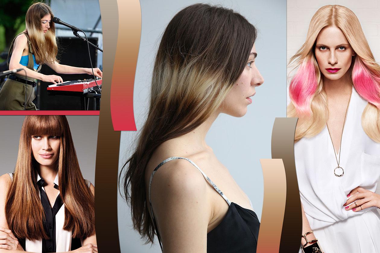 Beauty Hairstyle Splashlight