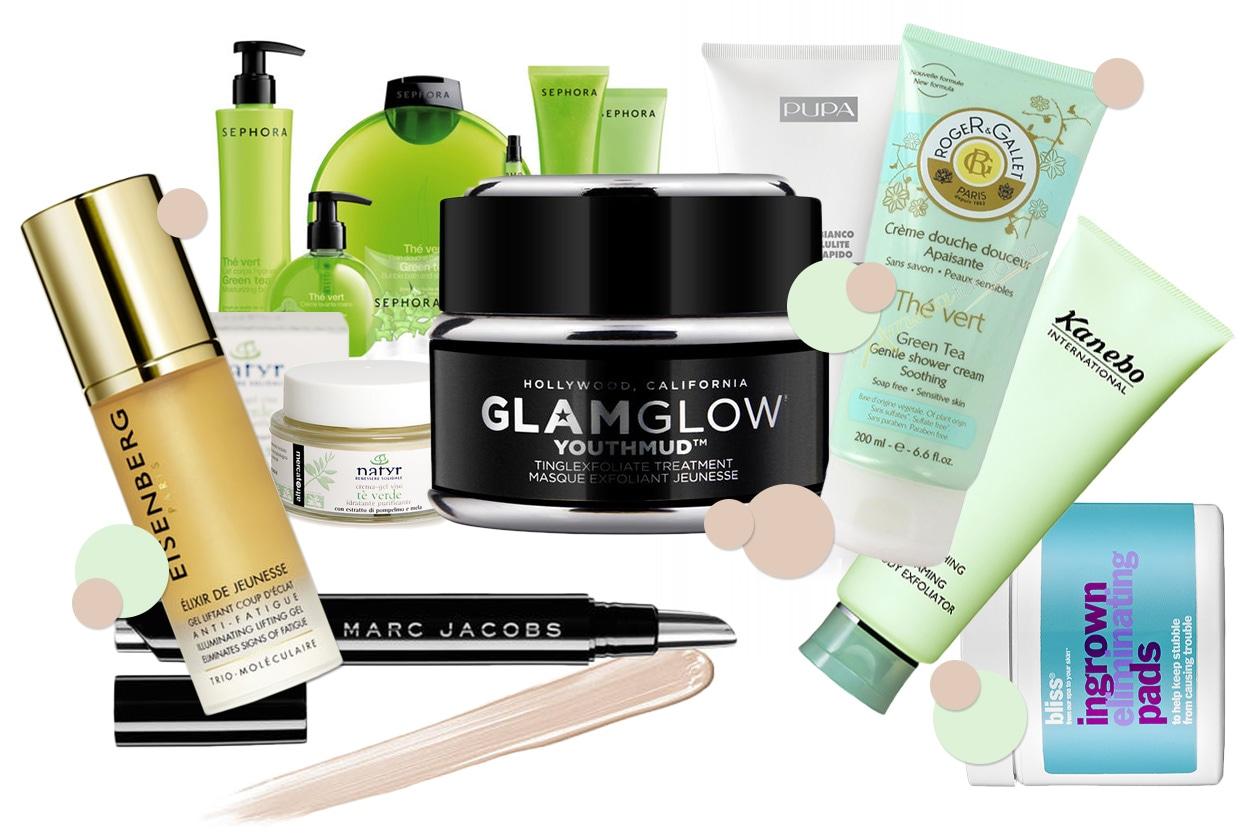 Beauty prodotti corpo con te verde 00 Cover collage
