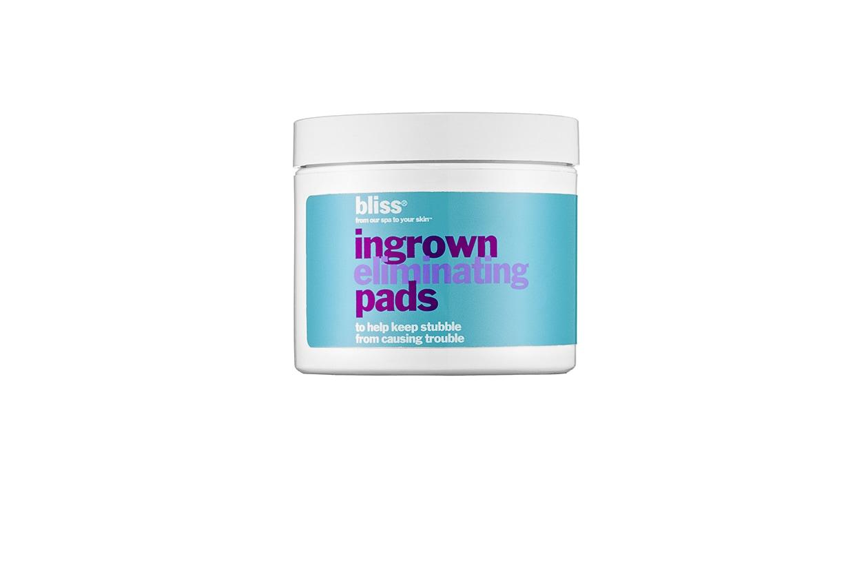 Beauty prodotti corpo con te verde Bliss ingrown eliminating pads