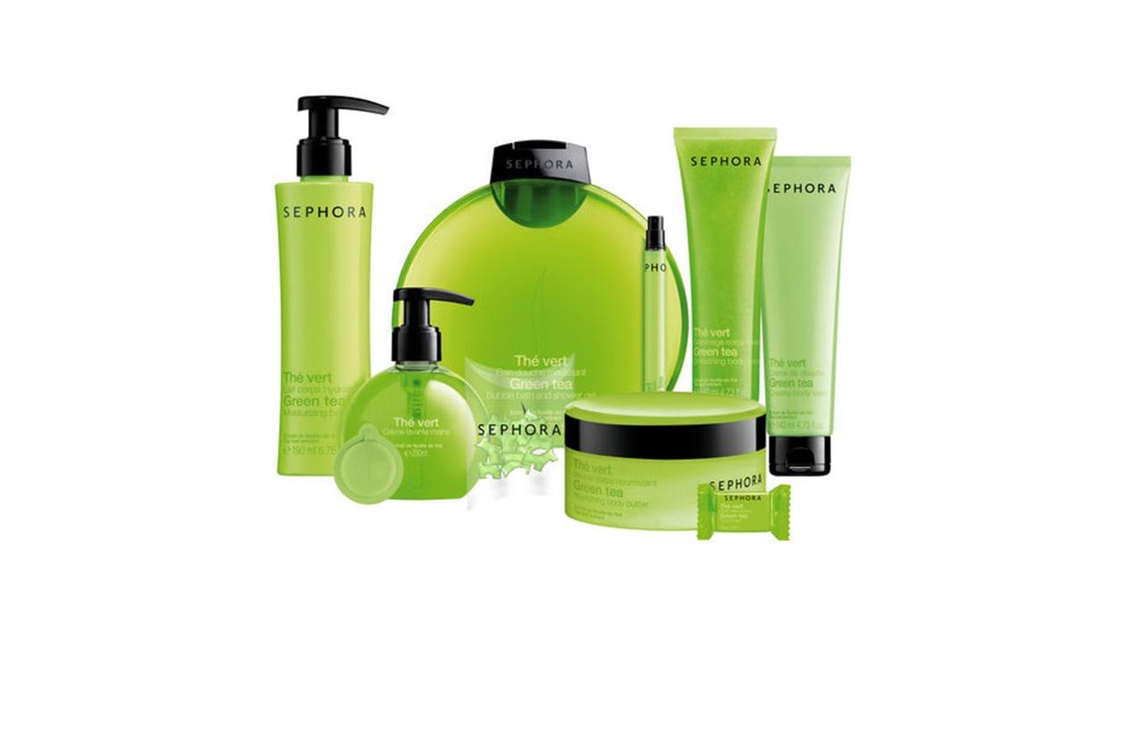 Beauty prodotti corpo con te verde sephora linea bagno te verde