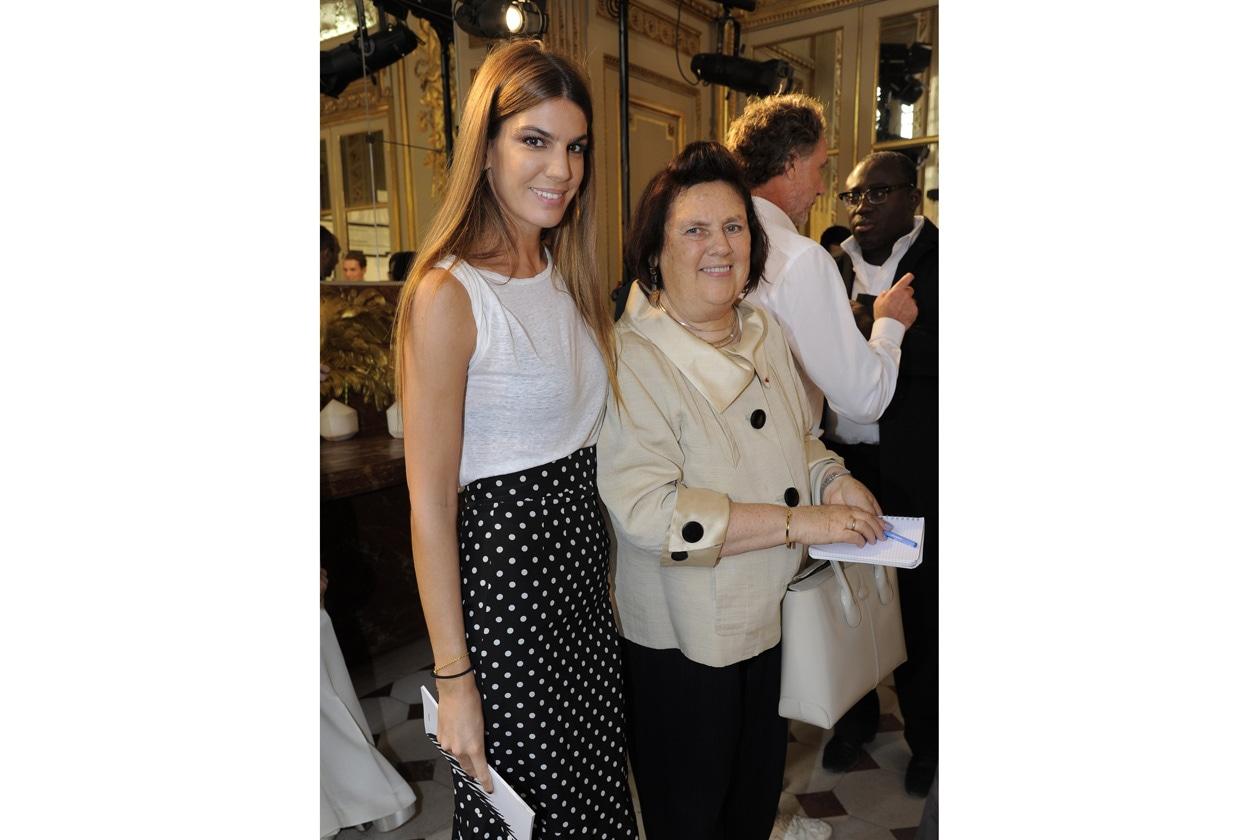 Bianca Brandolini D'Adda & Suzy Menkes
