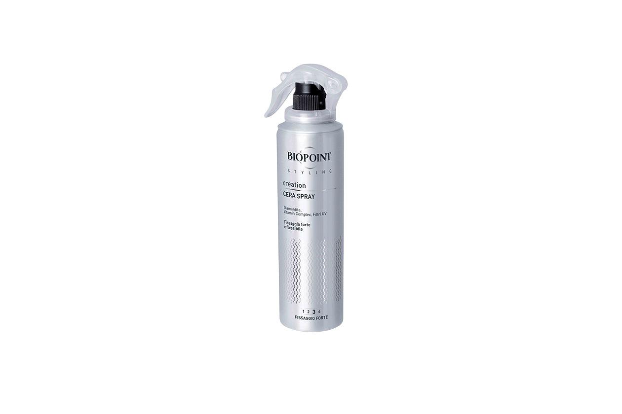 : Biopoint Styling Creation Cera Spray è l'alternativa perfetta alla cera: si vaporizza direttamente sui capelli e agisce definendo con precisione l'acconciatura