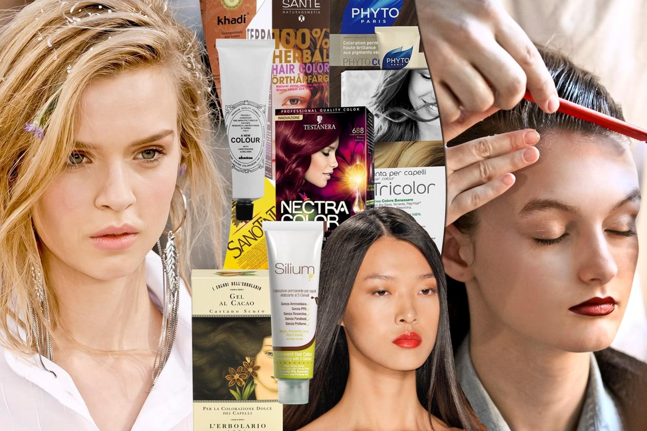 Colore per i capelli senza ammoniaca