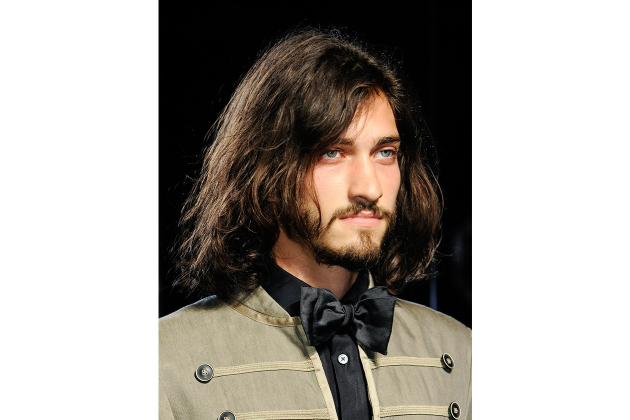 Capelli out of bed (John Varvatos)