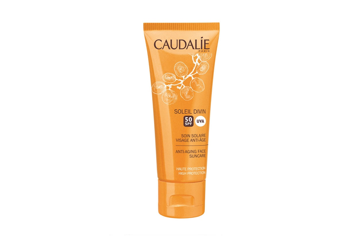 Caudalie Soleil Divin Anti Ageing High Protection Face Suncare SPF50 40ml 1399879869