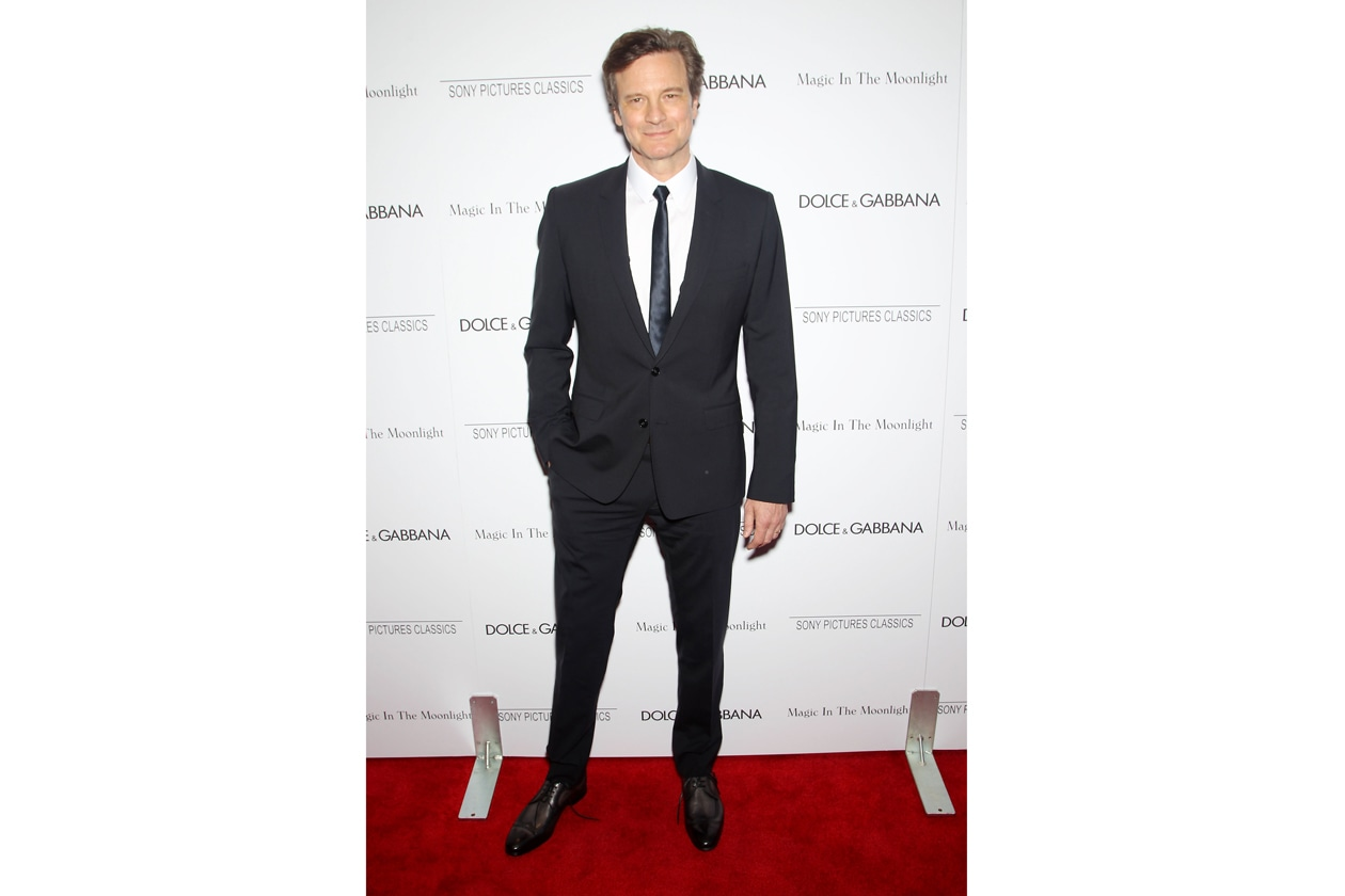 Colin Firth 'Magic in the Moonlight' NY Premiere July 17 2014