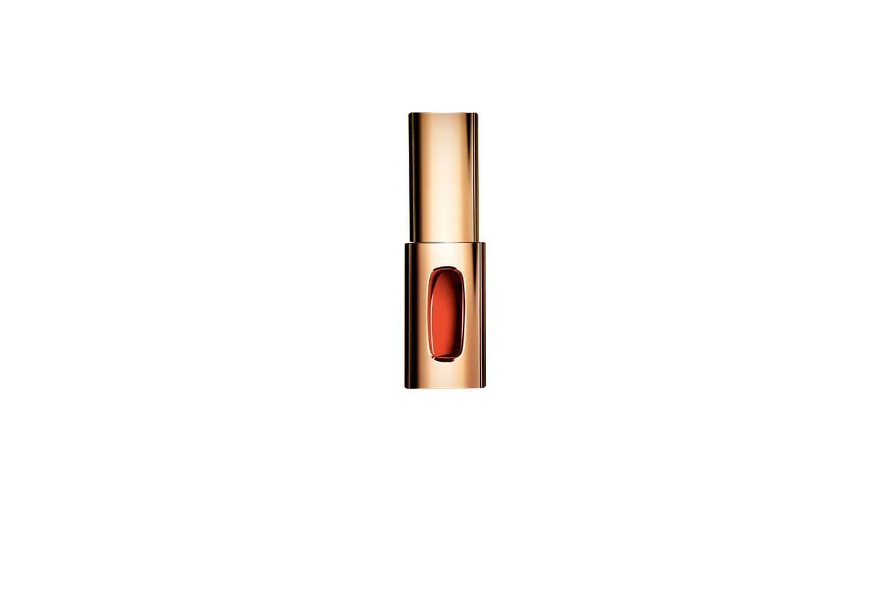 Color Riche L'Extraordinaire in 204 Tangerine Sonate di L'Oréal Paris unisce il colore di un rossetto con la brillantezza di un gloss