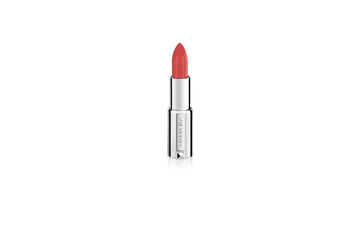 Corallo haute couture con Le Rouge Couture n.317 Corail Signature di Givenchy