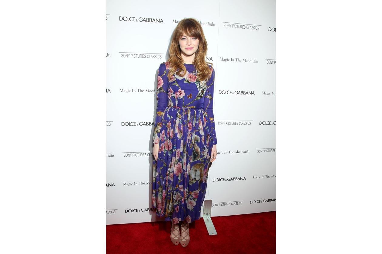 Emma Stone 'Magic in the Moonlight' NY Premiere July 17 2014