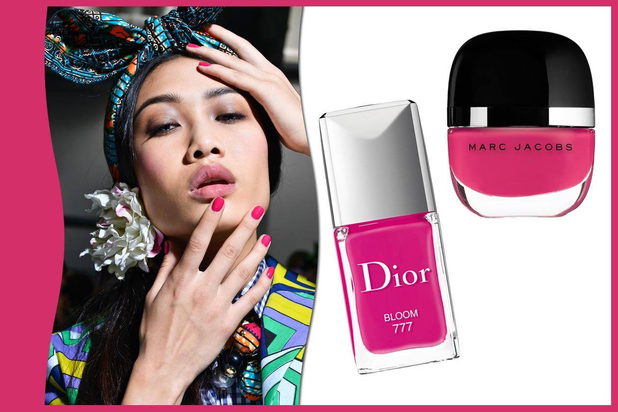 FLASH FUCSIA: Stella Jean – Dior – Marc Jacobs Beauty