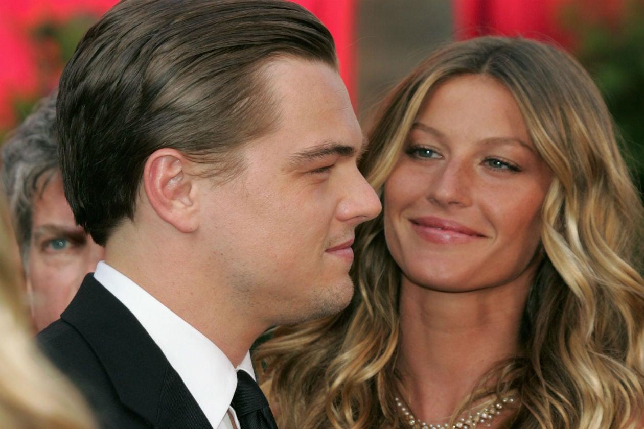 Gisele Bündchen e Leonardo DiCaprio