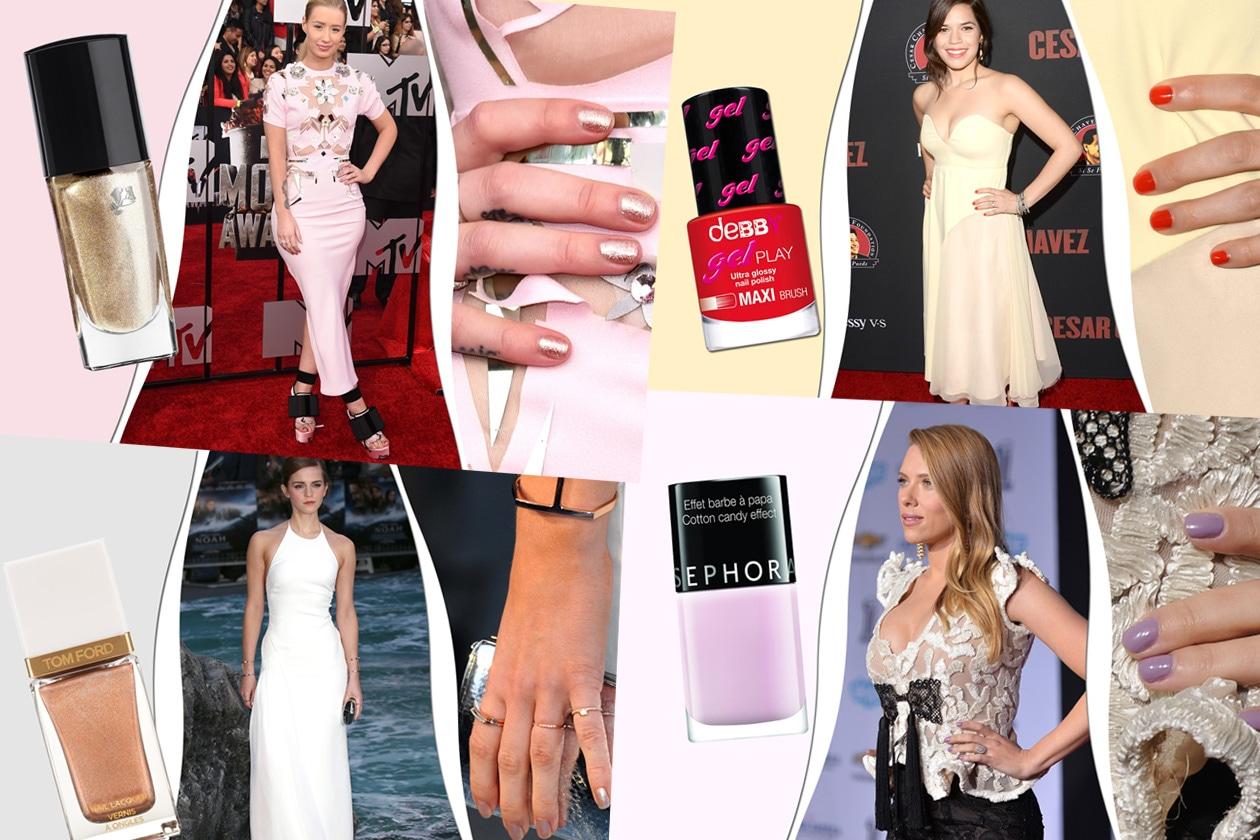 Gli smalti delle star: le manicure delle dive sui red carpet 2014. Scegliete la vostra nuance preferita!