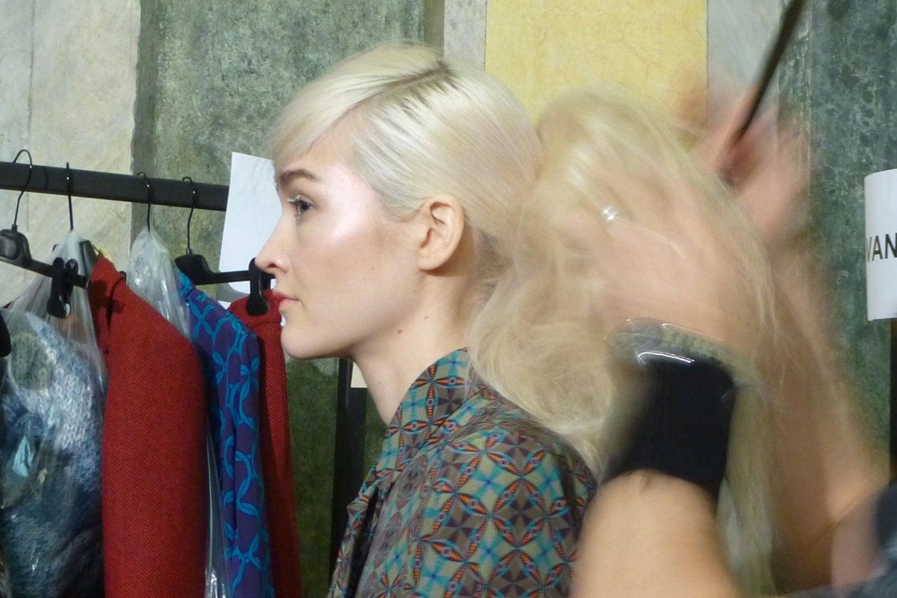 Ispirazione geisha per il make up di Stella Jean firmato da Michele Magnani per MAC