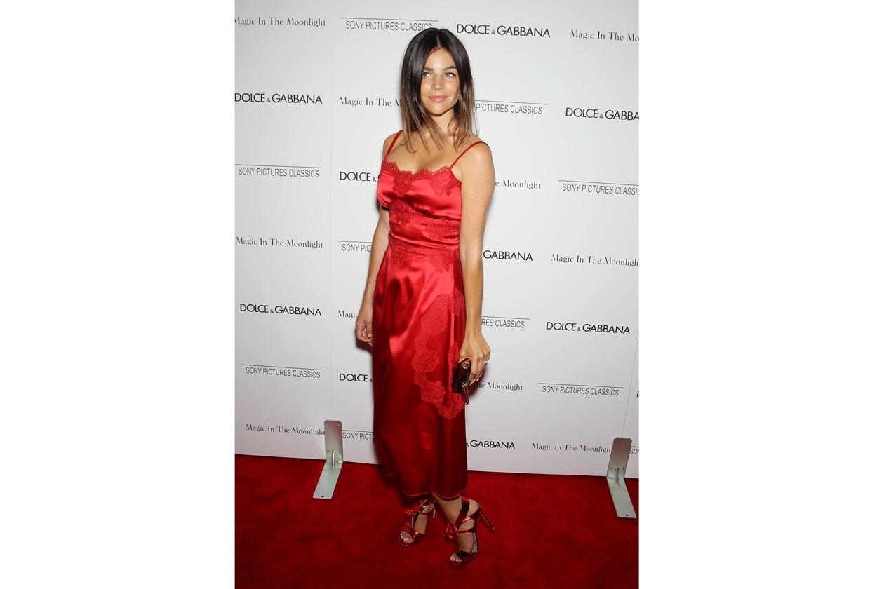 Julia Restoin Roitfeld 'Magic in the Moonlight' NY Premiere July 17 2014..