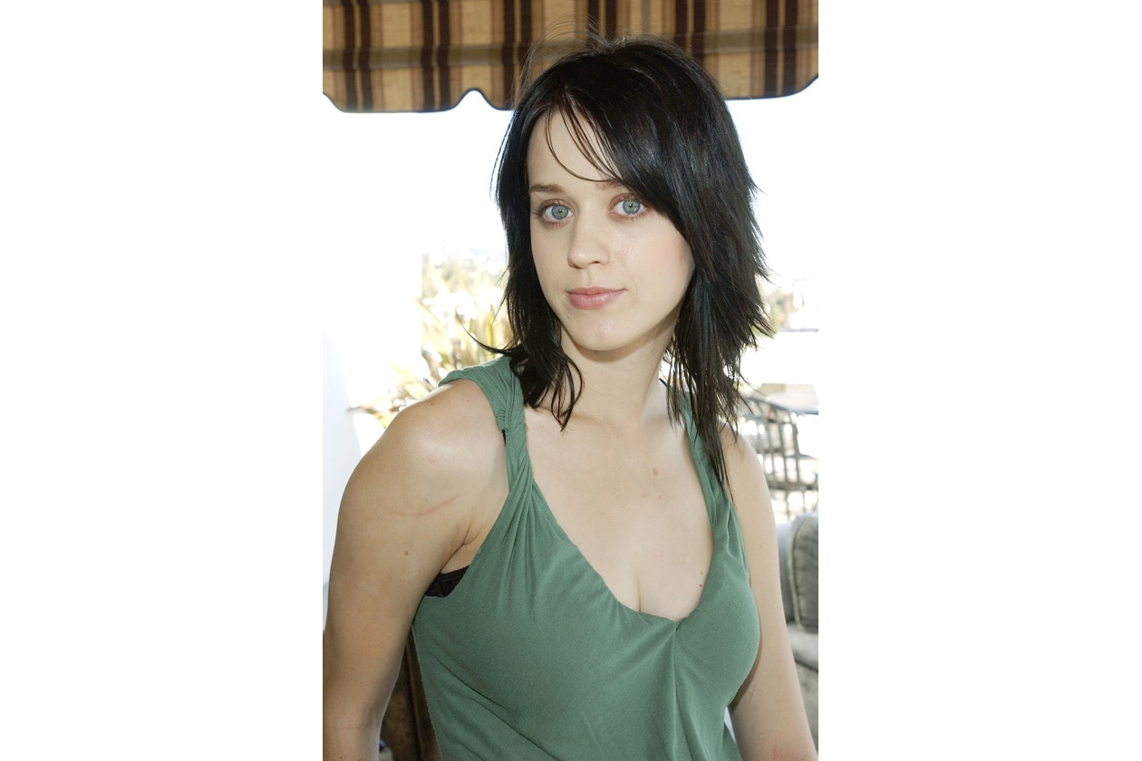 Katy Perry: capelli spioventi