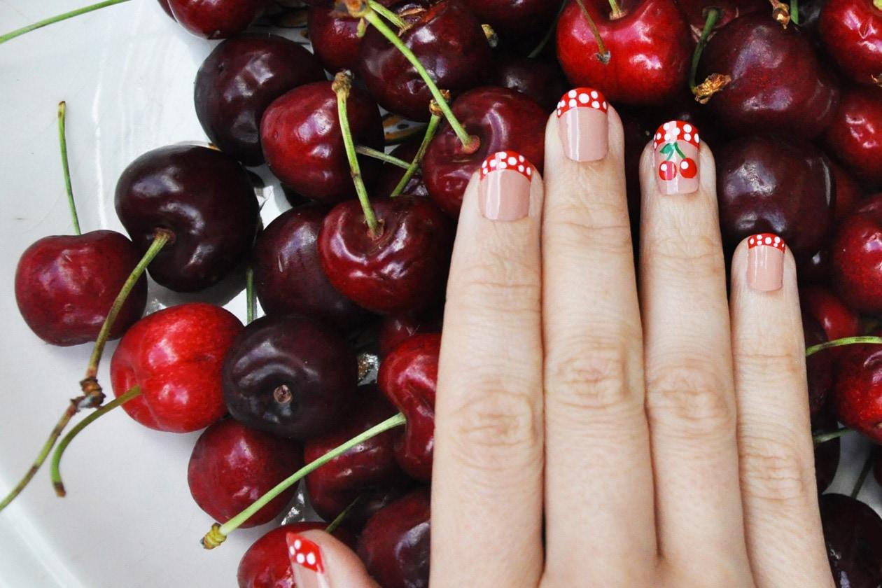 Kawaii Summer Nails – CHERRY BREAK nail art