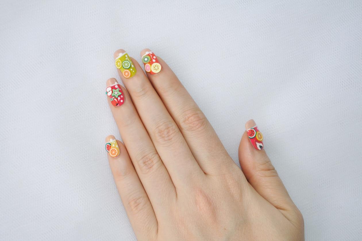 Kawaii Summer Nails – FRUIT COCKTAIL nail art
