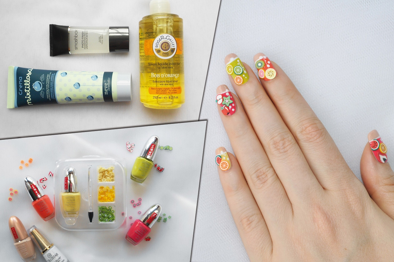 Kawaii Summer Nails – FRUIT COCKTAIL