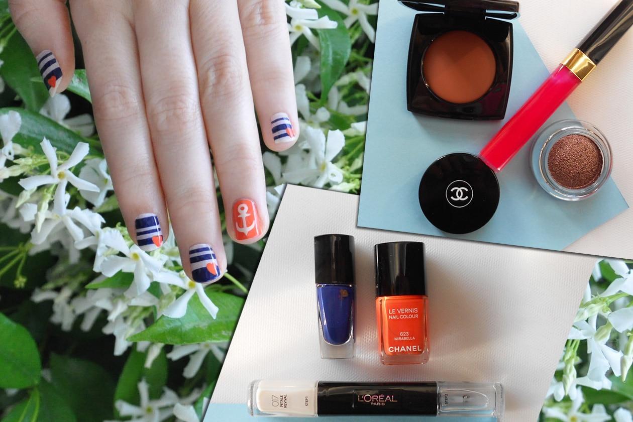 Kawaii Summer Nails – IN THE NAVY