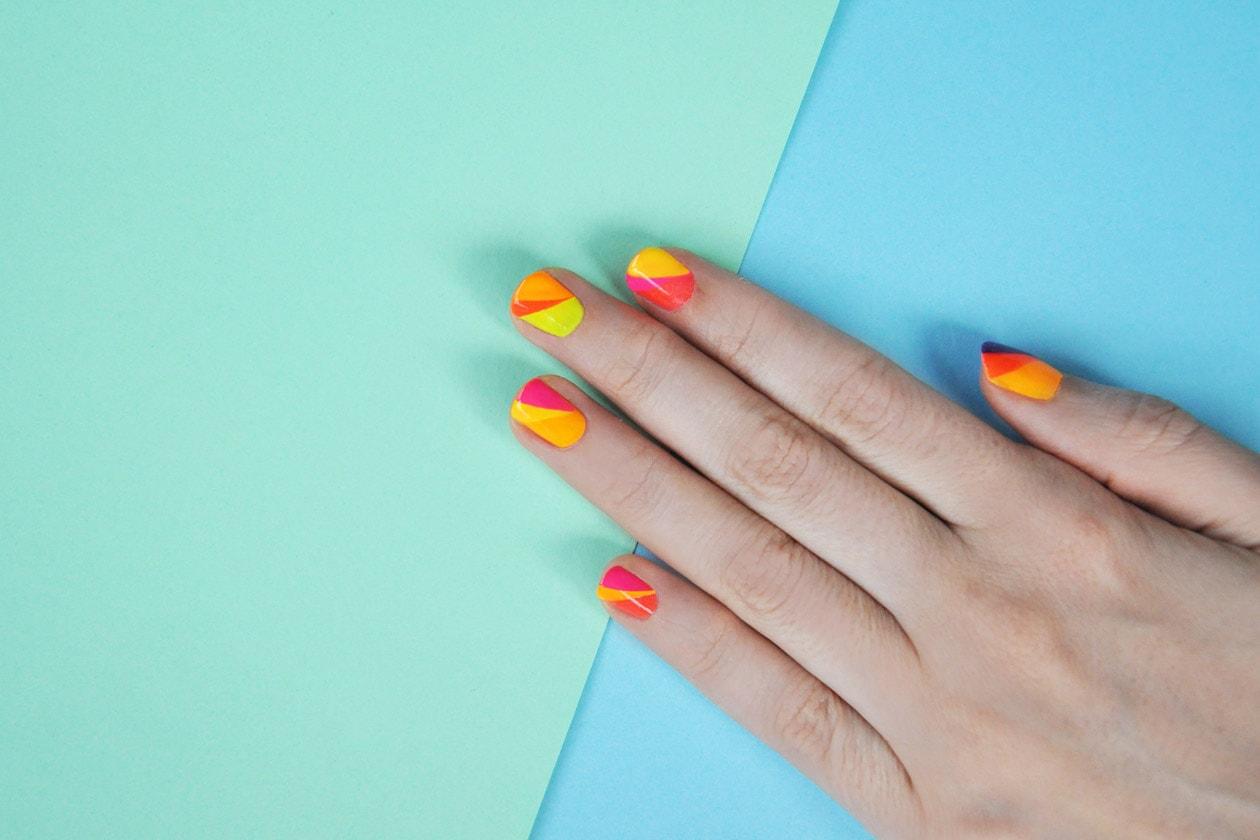 Kawaii Summer Nails – SUMMER FLAGS nail art