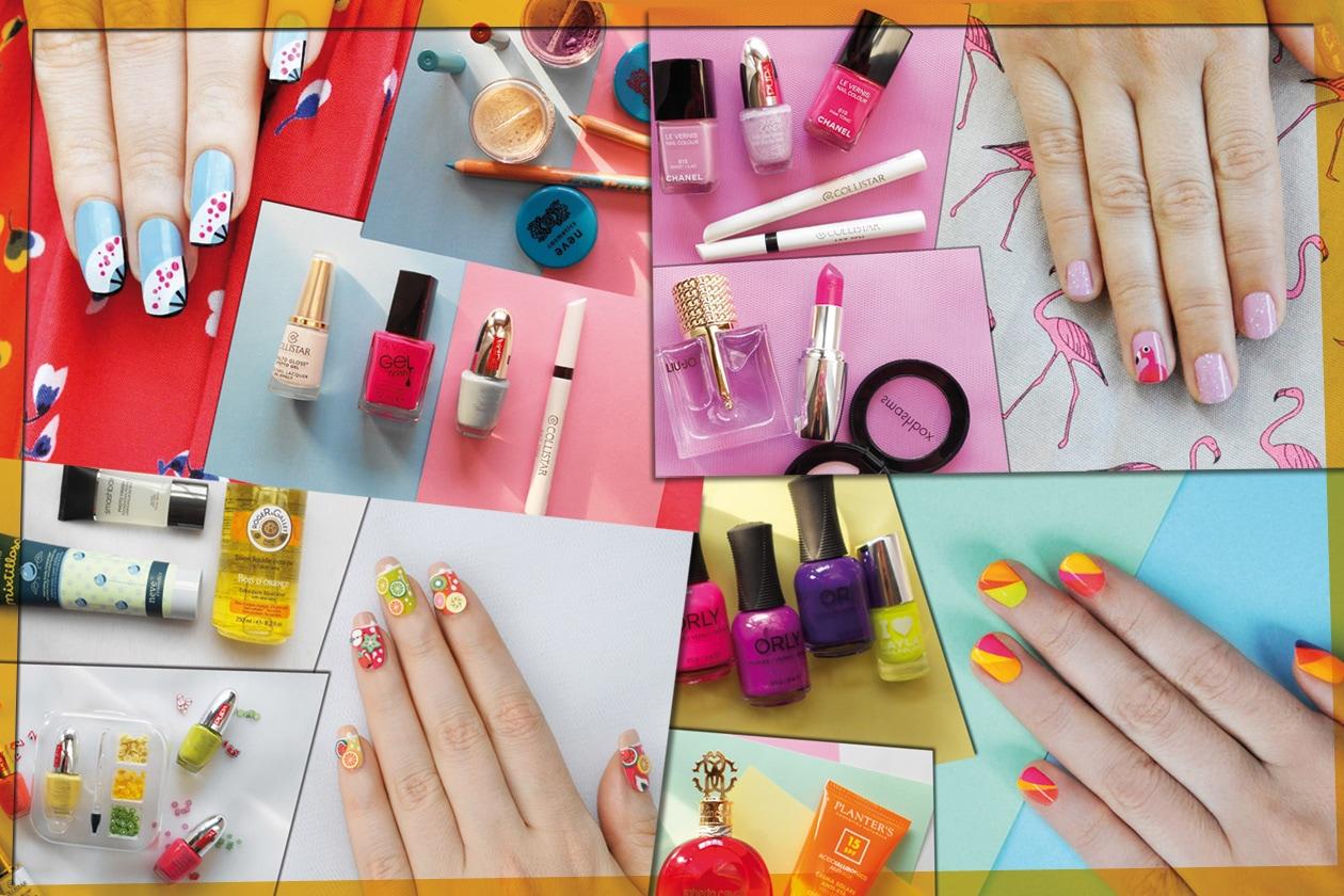 Kawaii Summer Nails