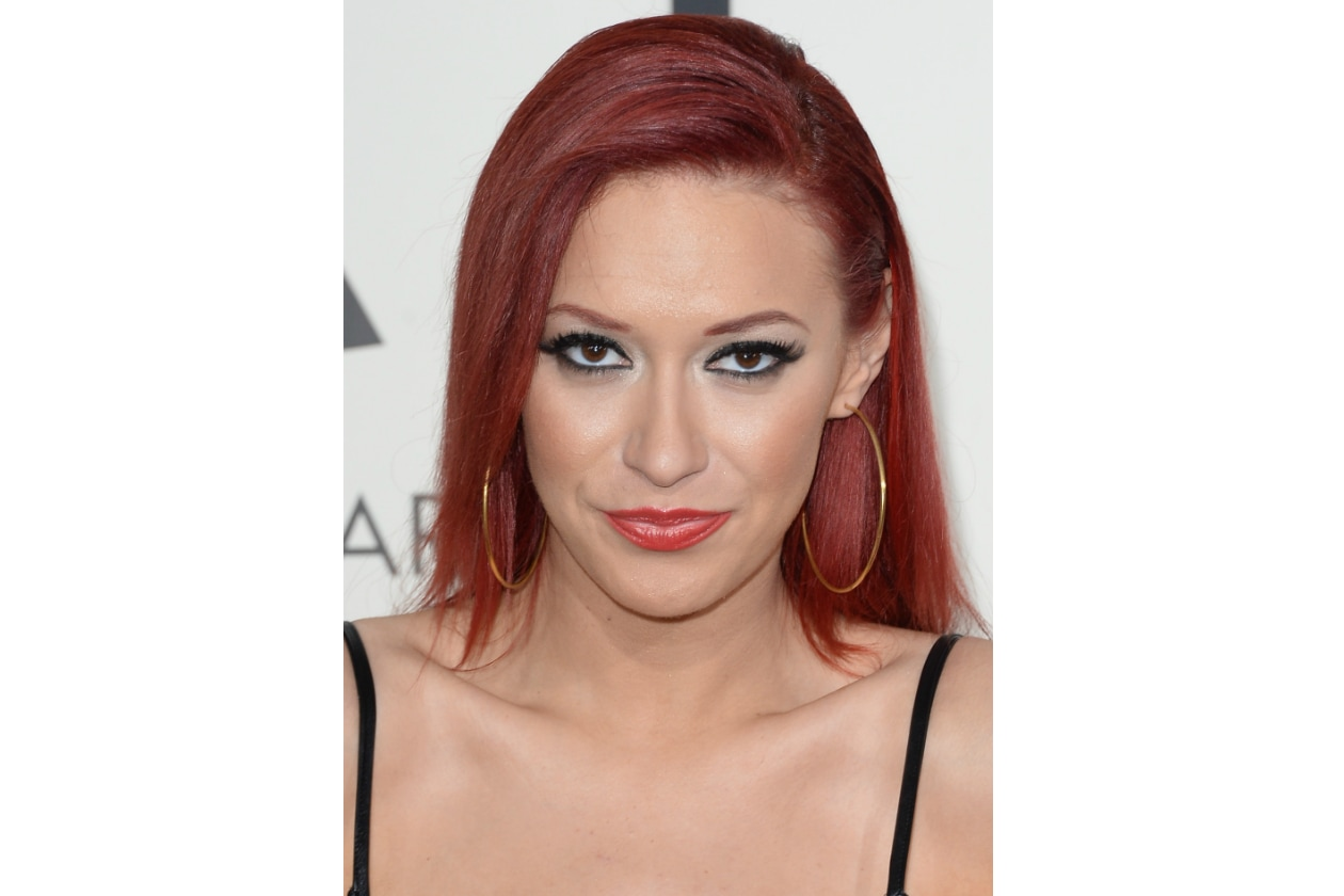 Kaya Jones capelli: the hair is on fire