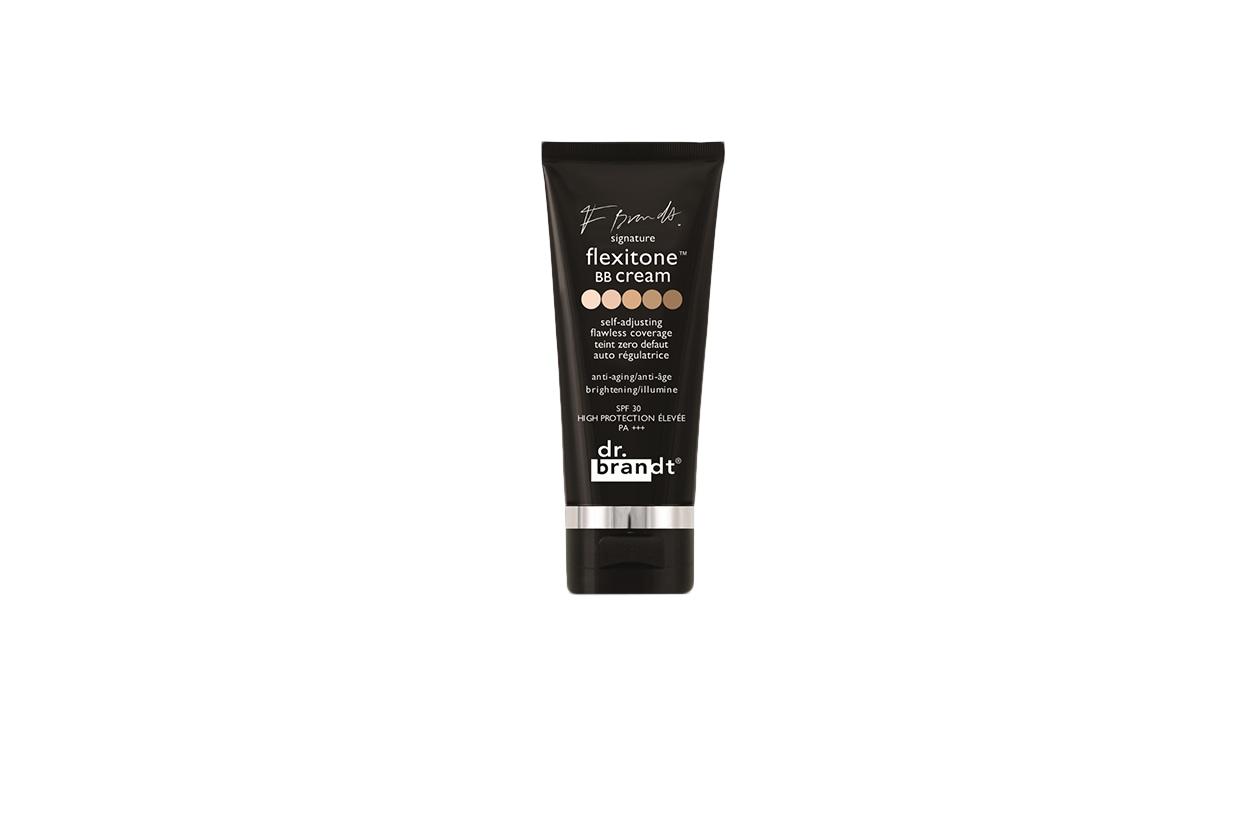 LE PROTETTIVE: la Dr Brandt's signature flexitone BB Cream SPF 30 ha una formula tecnologica (FlexitoneTM) con pigmenti auto-regolabili