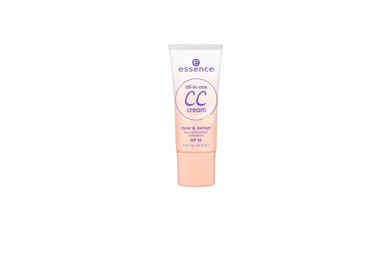 La All in One CC Cream di Essence è ideale per le pelli giovani in primavera