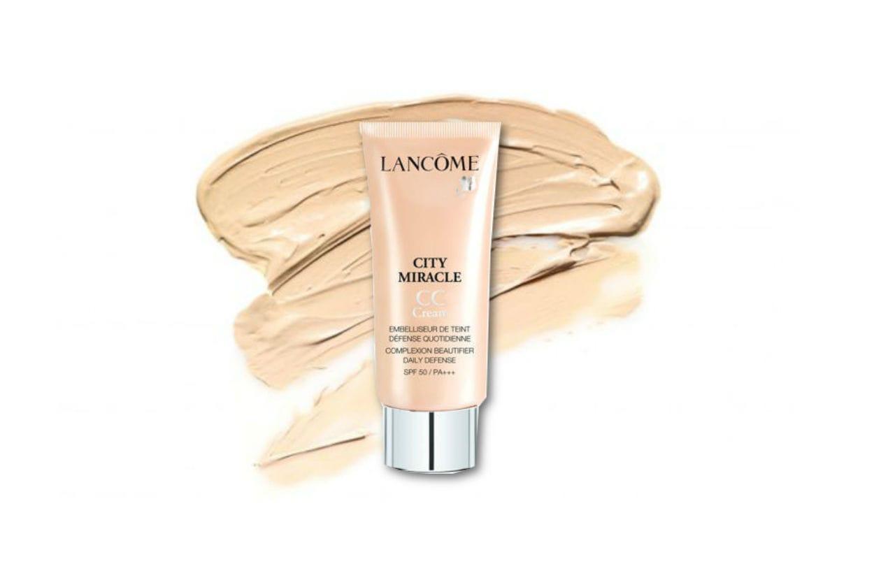 La City miracle CC Cream di Lancôme è altamente protettiva grazie al fattore di protezione SPF 50+